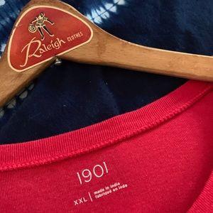 1901 Basic Red T-shirt